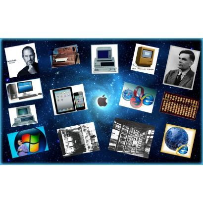 Dall'abaco alla Apple: viaggio nel mondo dell'informatica