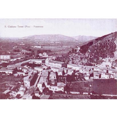 Il territorio di San Giuliano Terme, ieri e oggi.