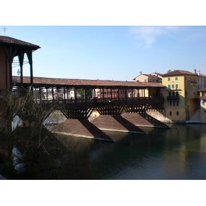 Ponte Vecchio o degli Alpini a Bassano Del Grappa